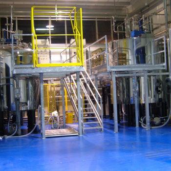 Impianto produzione liquido imbibente