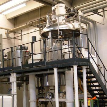 Gel production plant
