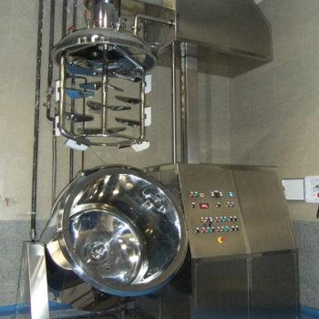 Turbo emulsifier 500 liters