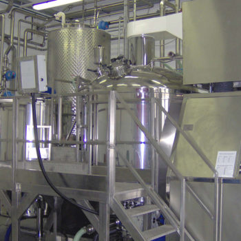 Turbo emulsifier 2000 liters